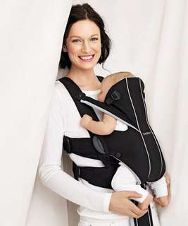 BabyBjorn Baby Carrier Miracle Soft Cotton Mix