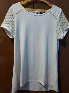 Ladies' white blouse