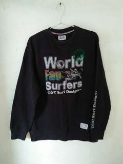 Crewneck T&C Surf Designs Pearl City Hawaii original import