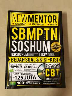 (NEW MENTOR) SBMPTN SOSHUM (Best Seller Books)