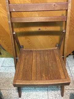 舊學校木坐椅。