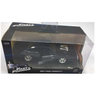 Fast & Furious 1:32 scale Dom's Dodge Charger R/T # 97042 by Jada Toys.