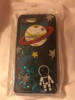 iPhone Case 7/8plus @星球圖案 流砂殻