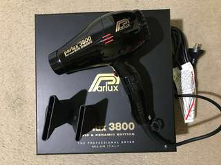 Parlux 3800 Hair Dryer ( ALMOST NEW )