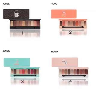 (PO) 10Colors Eyeshadow Palette Matte