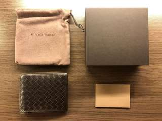 Bottega Veneta BV Wallet Men Brown 男 銀包 錢包 啡