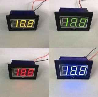 15v-120v Waterproof Voltmeter (PREORDER)
