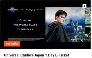 Best Selling Universal Studios Japan E - Ticket ( Osaka )