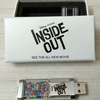INSIDE OUT MOVIE: 8GB PENDRIVE x 1