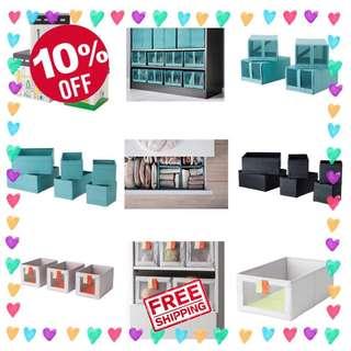 🎉😍Sale - Ikea Storage Boxes
