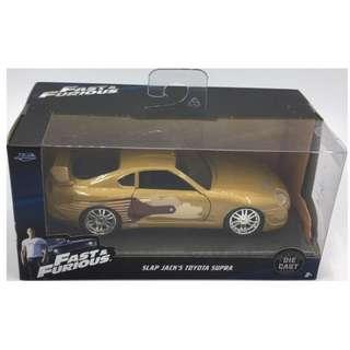 Fast & Furious 1:32 scale Slap Jack's Toyota Supra by Jada Toys