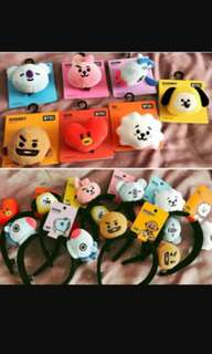 BT21 OFFICIAL HAIRBAND AND HEADBAND