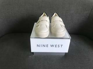 Nine West White-Black sneakers