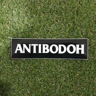 ANTIBODOH 😏 vinyl cut sticker