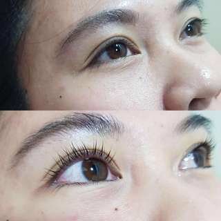 Eyelash lifting / perm