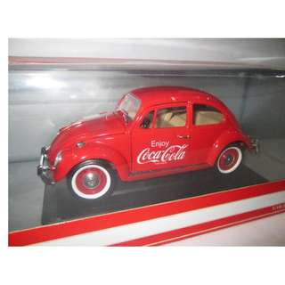 Coca Cola Volkswagen Beetle Car 1:18 scale
