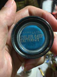 Maybelline Color tattoo (electric blue)