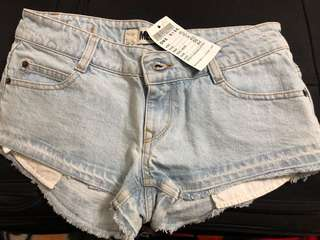 Brandy Melville denim short shorts