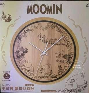 Moomin clock 姆明 鐘 掛牆鐘