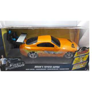 Fast & Furious Brian's Toyota Supra 2.4Ghz Radio Control (RC) 1:16 scale by Jada Toys