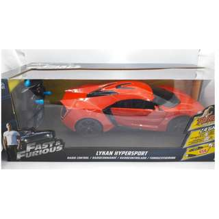 Fast & Furious Lykan Hypersport 2.4Ghz Radio Control (RC) 1:16 scale by JadaToys