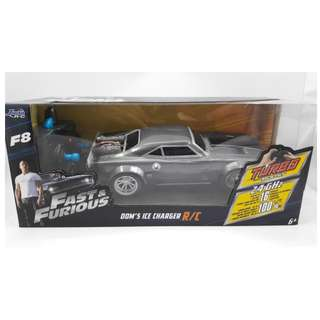 Fast & Furious Dom's Ice Charger 2.4Ghz Radio Control (RC) 1.24 scale by Jada Toys