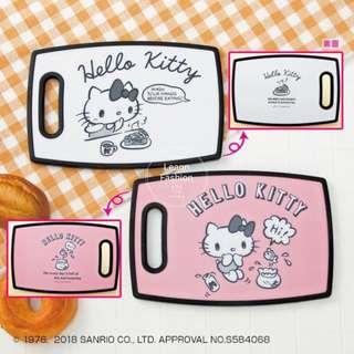 Hello Kitty 沾板 玷板 白色