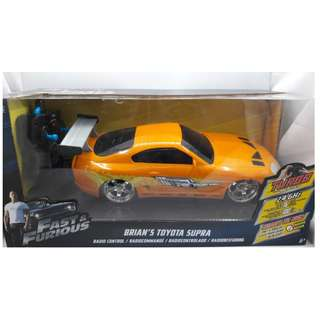 Fast & Furious Brian's Toyota Supra 2.4Ghz Radio Control (RC) 1:24 scale by JadaToys