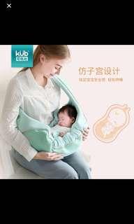 [全新] 前抱式 BB 抱帶 揹帶橫抱式 多功能保暖背袋