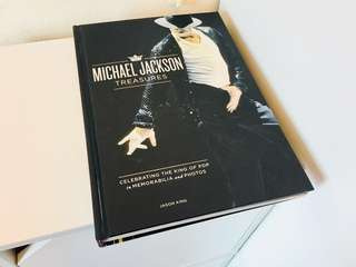 Michael Jackson memorabilia book