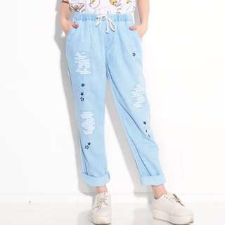 Baggy jeans star fit to XL