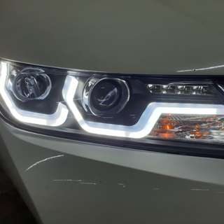 Honda city eagles light&Clearance stock