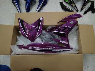 Coverset Yamaha Exciter Purple