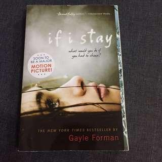 📚 If I Stay - Gayle Forman