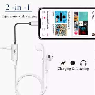 Wiwu LT01 Audio Adapter for iphone 7/7+, 8/8+ and X