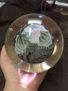 内绘 玻璃球
