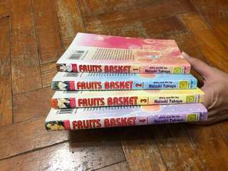 Fruit Basket comic Vol. 1-4