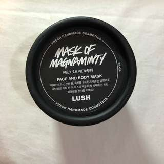 REPRICE 💛 LUSH MASK OF MAGNAMINTY