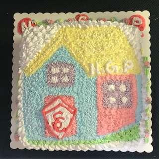 屋仔蛋糕 2磅