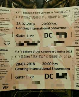 YY i believe 2 ~ concern in genting