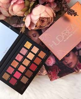NEW❗️ Huda Beauty Rose Gold Remastered Eyeshadow Palette