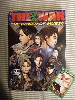 EXO: The War (Repackage Album) (Korean Version)