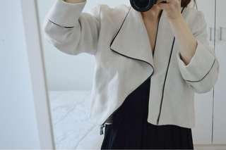 Vintage linen blazer