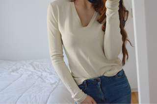 Silk blend sweater