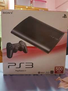Urgent! Ps3 Slim (500gb) Nego