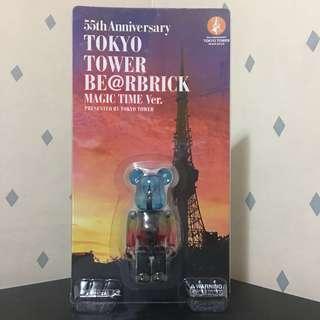 Bearbrick 100% 東京鐵塔 3rd Tokyo Tower Magic Version 三代 3代 Bear Be@rbrick Toy Figure Art Design Rabbrick R@bbrick Nyabrick Ny@brick 模型 擺設 收藏品 玩具 禮物 生日禮物