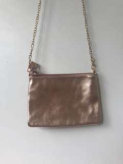 Metallic small bag
