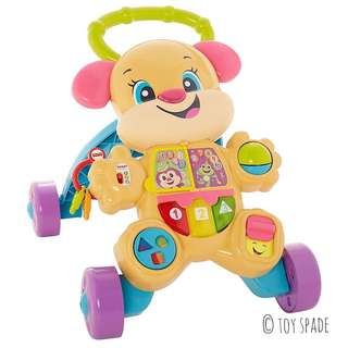 (In-Stock) Fisher-Price Laugh & Learn Smart Stages Learn with Sis Walker (Brand New)
