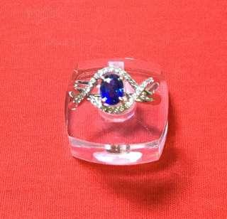 天然藍寶石鑽戒