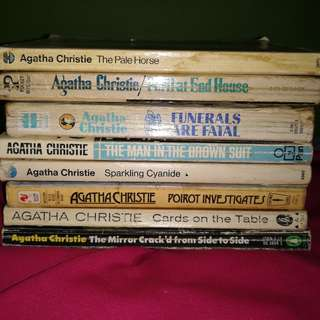 Agatha Christie novels